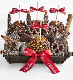 Simply Chocolate Sumptuous Snack Basket