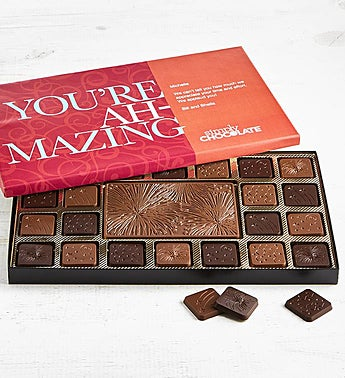 Simply Chocolate You're Amazing Personalized  Box