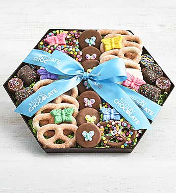 Simply Chocolate Sensational Spring Snack Tray
