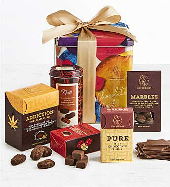 Max Brenner Deluxe Chocolate Mood Gift Tin