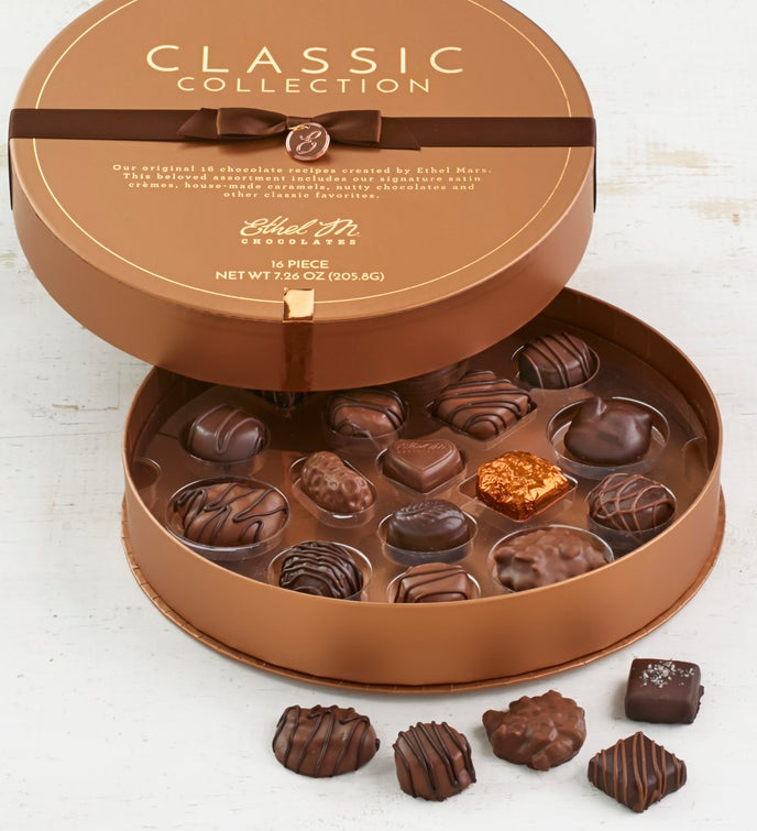 Ethel M Chocolates Classic Collection 16pc