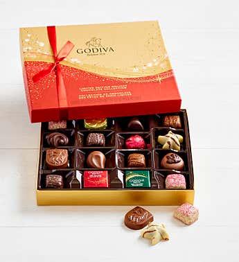 Godiva Ltd Edition 2020 Holiday Chocolates  16 pc