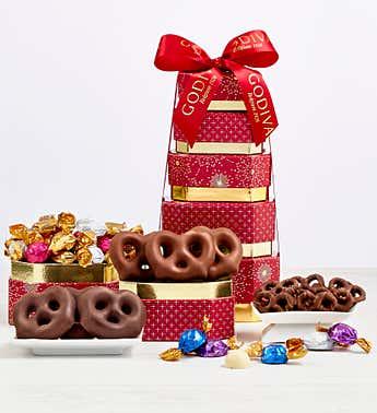 Godiva Prestige Chocolate & Sweets Tower