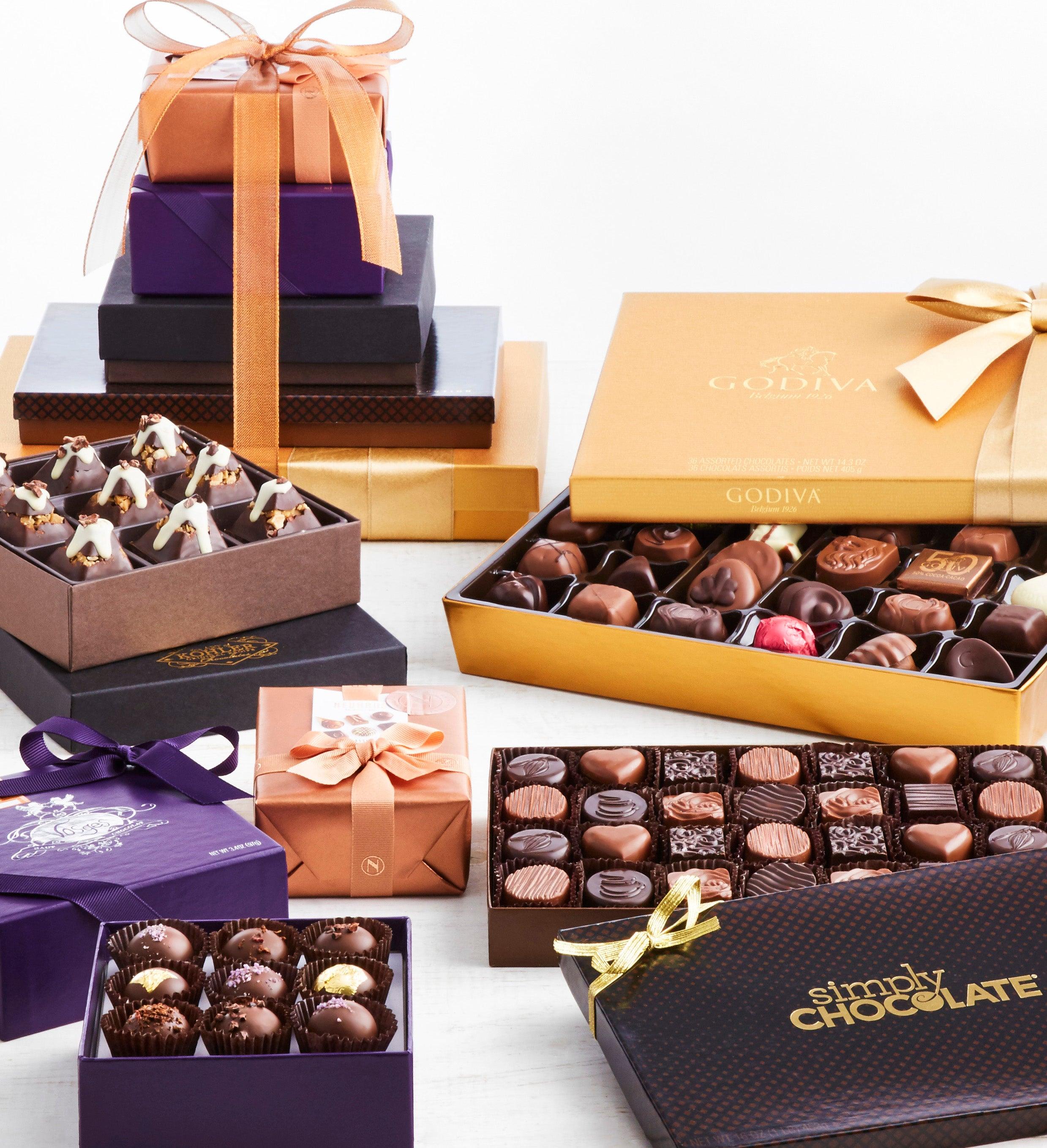 Exclusive Premier Chocolates of Distinction Tower