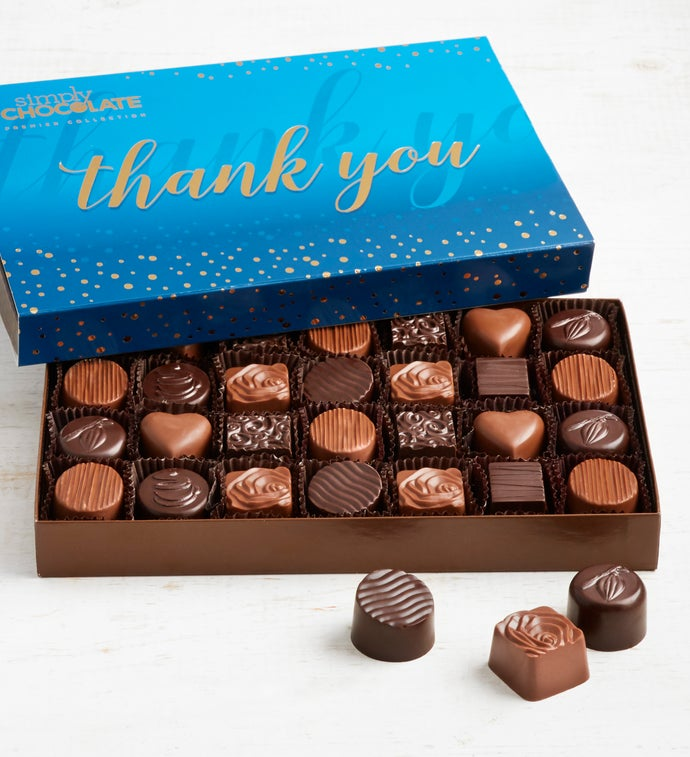 Simply Chocolate Thank You Premier Collection