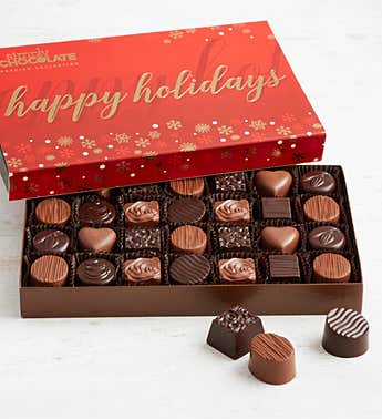 Simply Chocolate Holiday Premier Collection 28pc