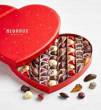Neuhaus Ultimate 82pc Belgian Chocolate Heart Box