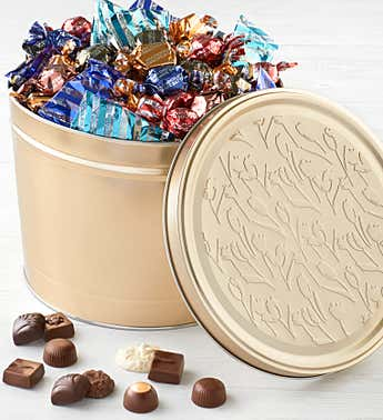 Harry London 5LB Asst Chocolates in Tin