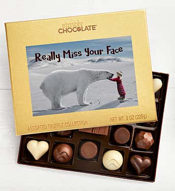 Miss Your Face 19pc Chocolate Box