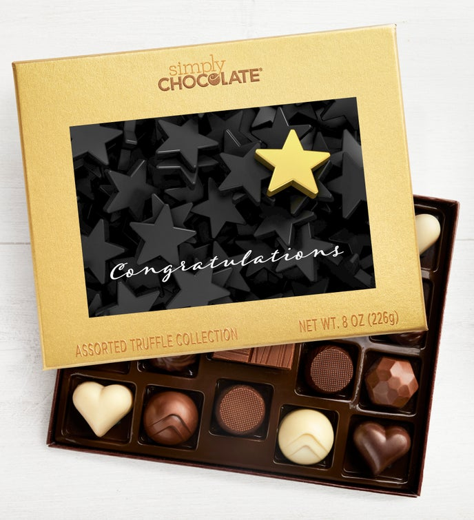 Congratulations Star 19pc Chocolate Box