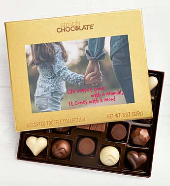 Mother's Day Hand Holding 19pc Chocolate Box
